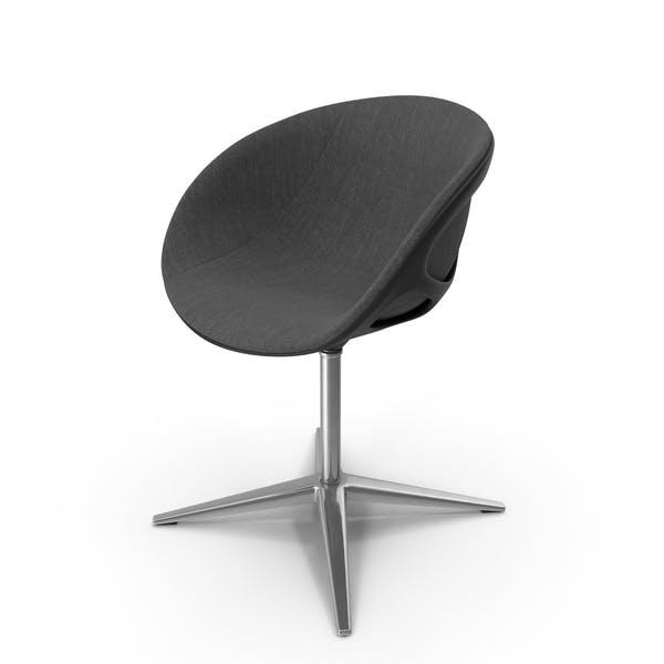 Nest Shaped Chair Dark Canvas