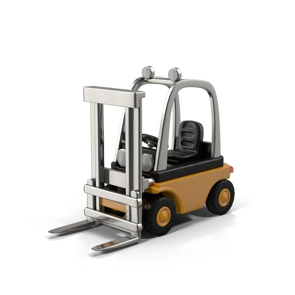 Cover Image for Yellow Forklift