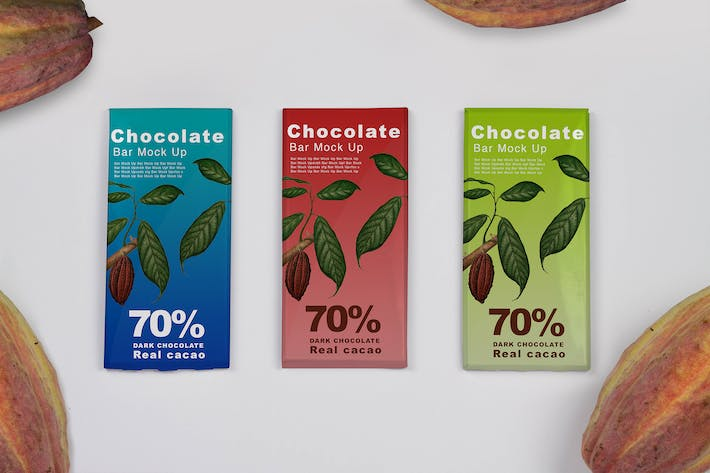 Thumbnail for Cacao Chocolate Mock Up