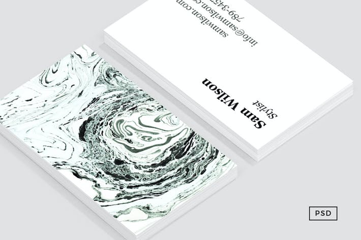 Thumbnail for Salt Business Card Template