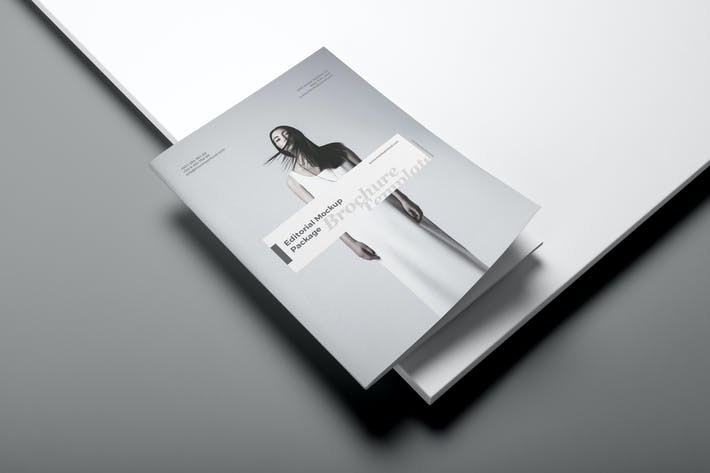Portrait Brochure Mockup Vol. 3
