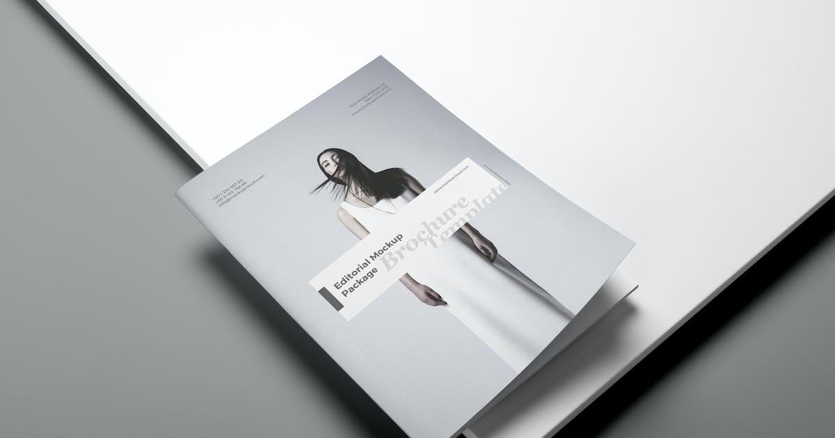 Portrait Brochure Mockup Vol. 3 by Genetic96