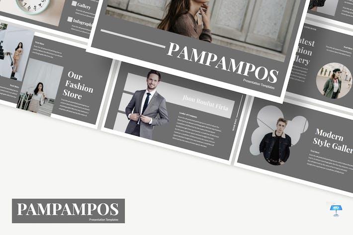 Thumbnail for Pampampos - Keynote Template
