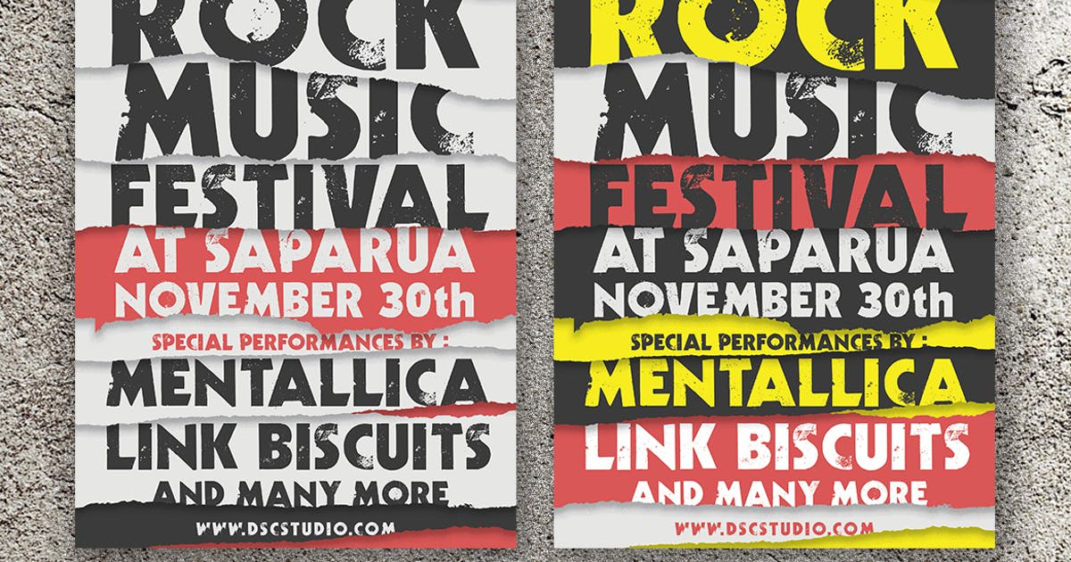 Download Rock Music Festival Flyer by Unknow