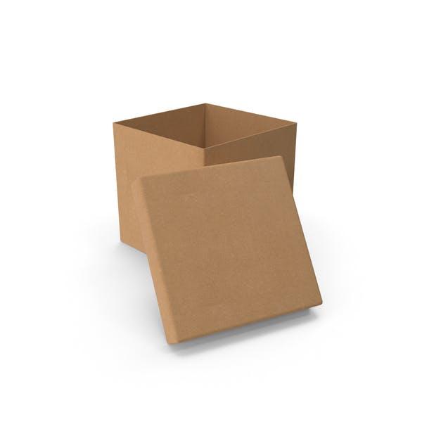 Thumbnail for Картонная коробка Cube Open