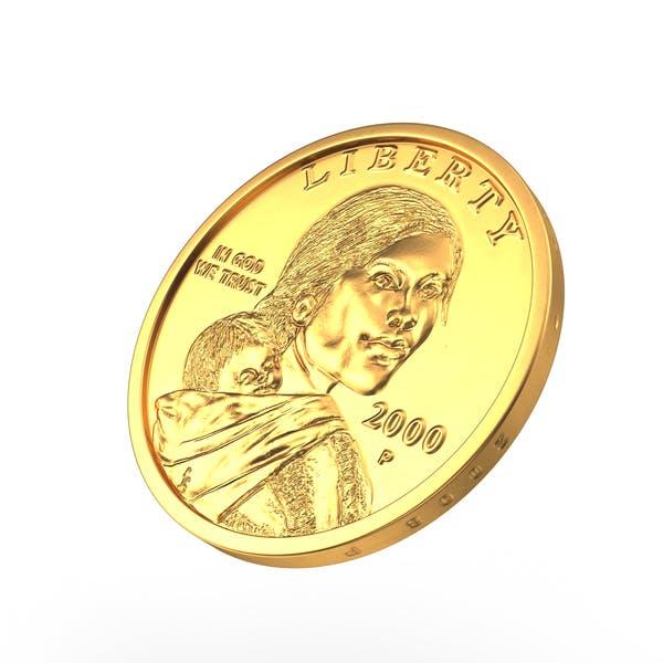 Thumbnail for US Sacagawea Dollar