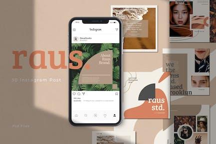 RAUS - Instagram Square Template