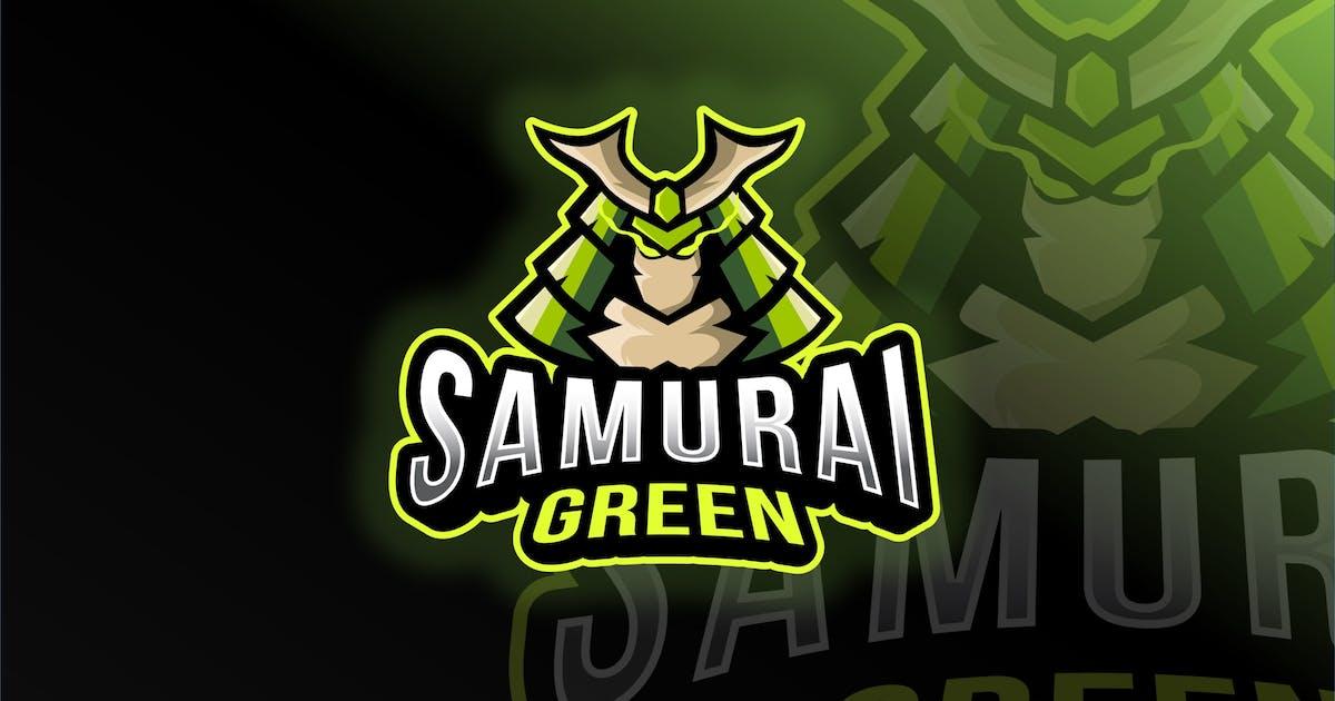 Download Samurai Green Esport Logo Template by IanMikraz