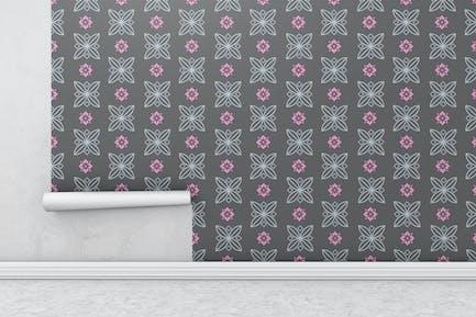 Wallpaper Roll Mockups