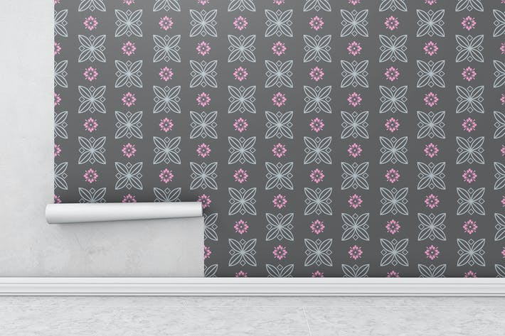 Thumbnail for Wallpaper Roll Mockups