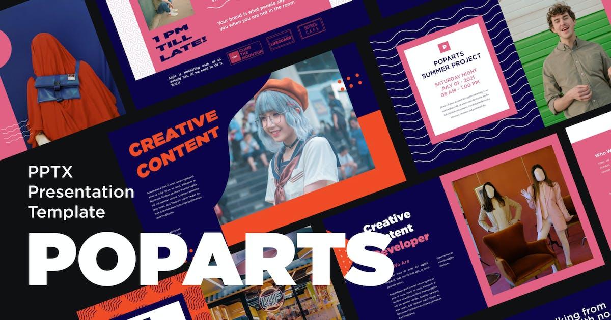 Download Poparts Powerpoint Template by axelartstudio