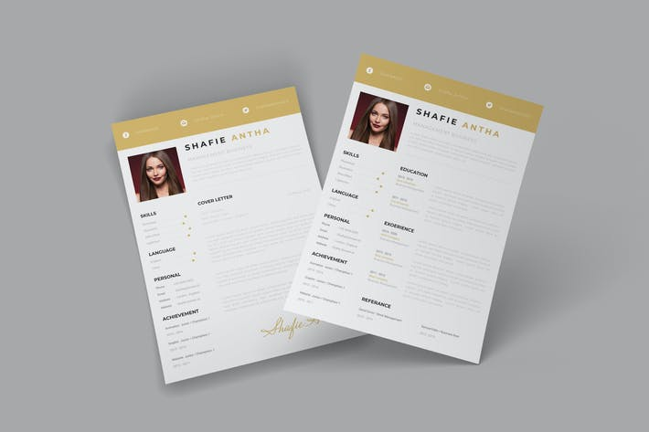 Thumbnail for Creativevis CV Resume