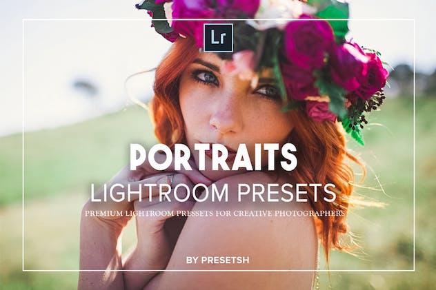 25 Portraits Collection Lightroom Presets