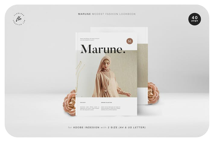 Thumbnail for Marune Modest Fashion Lookbook