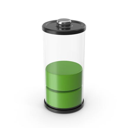 Battery Icon Green 50%