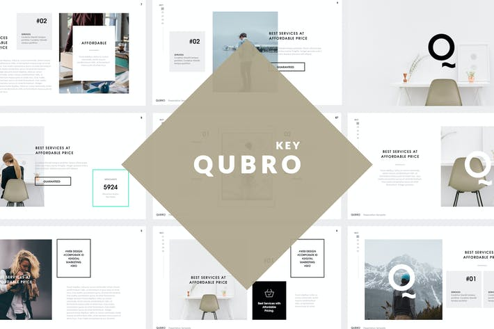Qubro Simple Keynote Template
