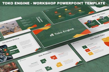 Toko Engine - Workshop Powerpoint Template