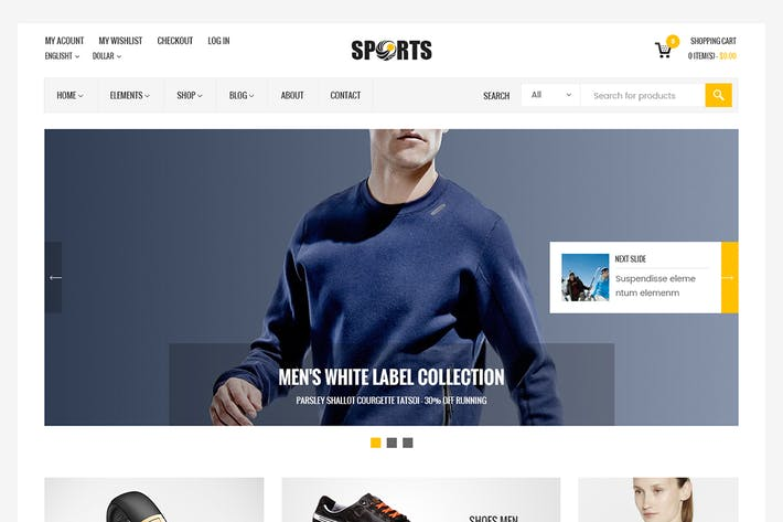 Thumbnail for Sport Shop - Sporting Club RTL WooCommerce Theme