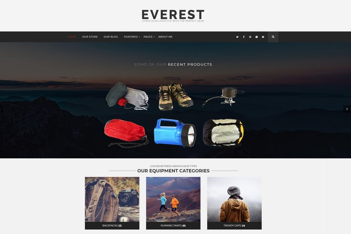 Thumbnail for Everest - Minimal Ecommerce WordPress Theme
