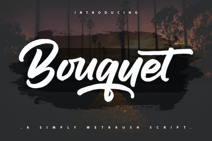 Bouquet | A Simpely Wetbrush Script