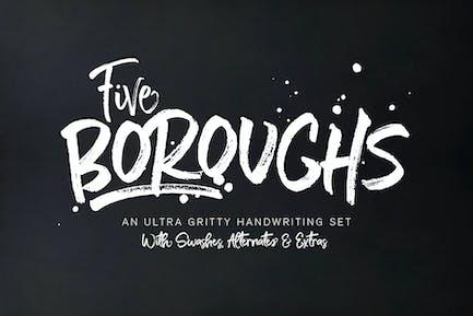 Five Boroughs Fonts