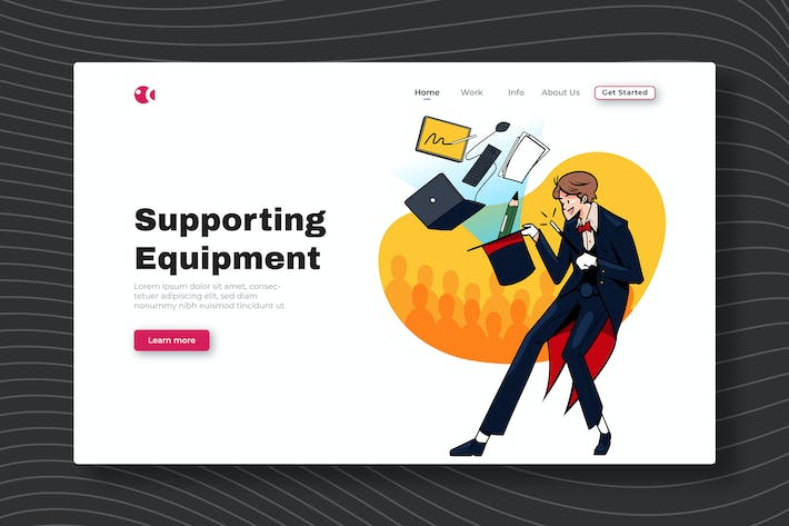 Thumbnail for Supporting Equipment - Landing Page