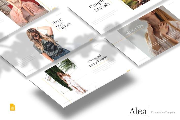 Thumbnail for Alea - Google Slides Template