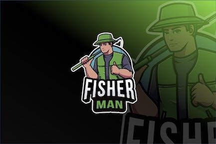 Fisherman Logovorlage