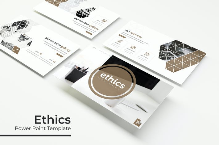 Thumbnail for Ethics - Powerpoint Template