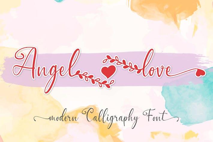 Thumbnail for Angel Love - Script Font