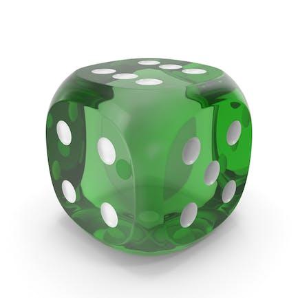 Die Transparent Green White