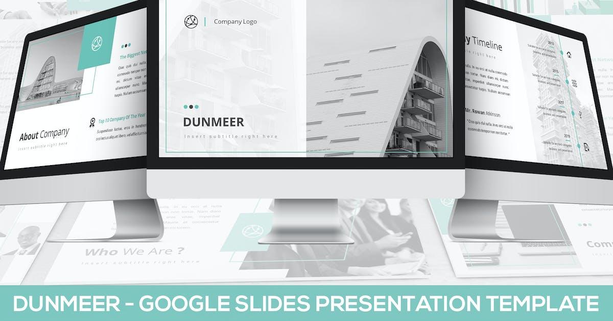 Download Dunmeer - Google Slides Presentation Template by SlideFactory