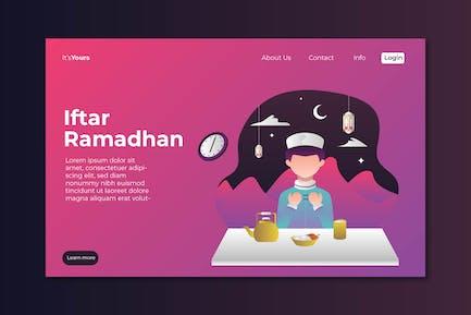 Iftar Ramadahan Landing Page