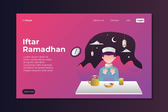 Thumbnail for Iftar Ramadahan Landing Page