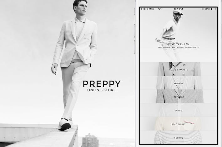 Thumbnail for Preppy online-store