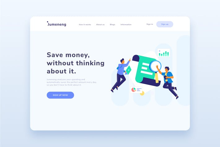 Business Strategy Research Landing Page