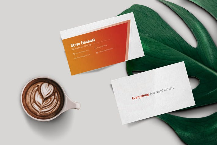 Thumbnail for Corporate Business Card Typica Vol.07