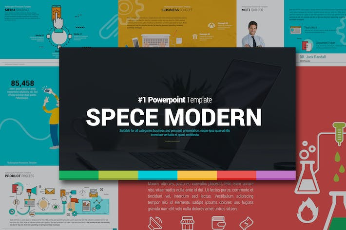 Cover Image For SPECE Modern Powerpoint
