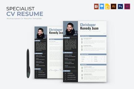 Specialist | CV & Resume