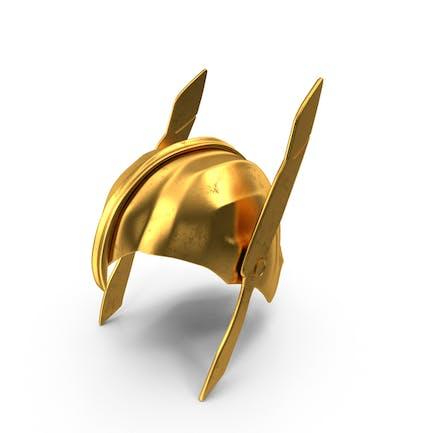 Casco Golden Warrior