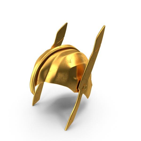 Thumbnail for Golden Warrior Helmet