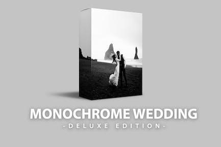Monochrome Wedding Deluxe Edition | DEsktop Mobile