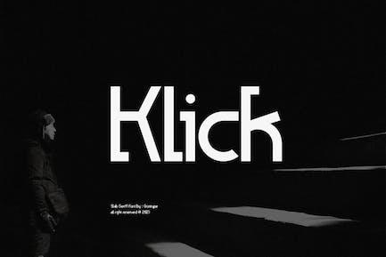 Fuente Klick