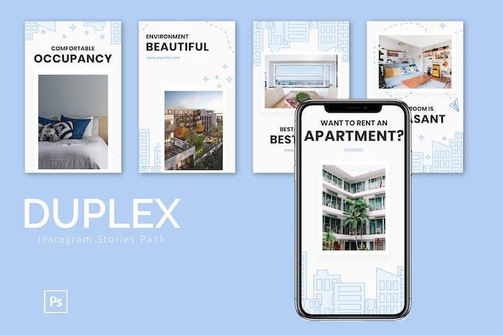 Thumbnail for Duplex - Instagram Story Pack