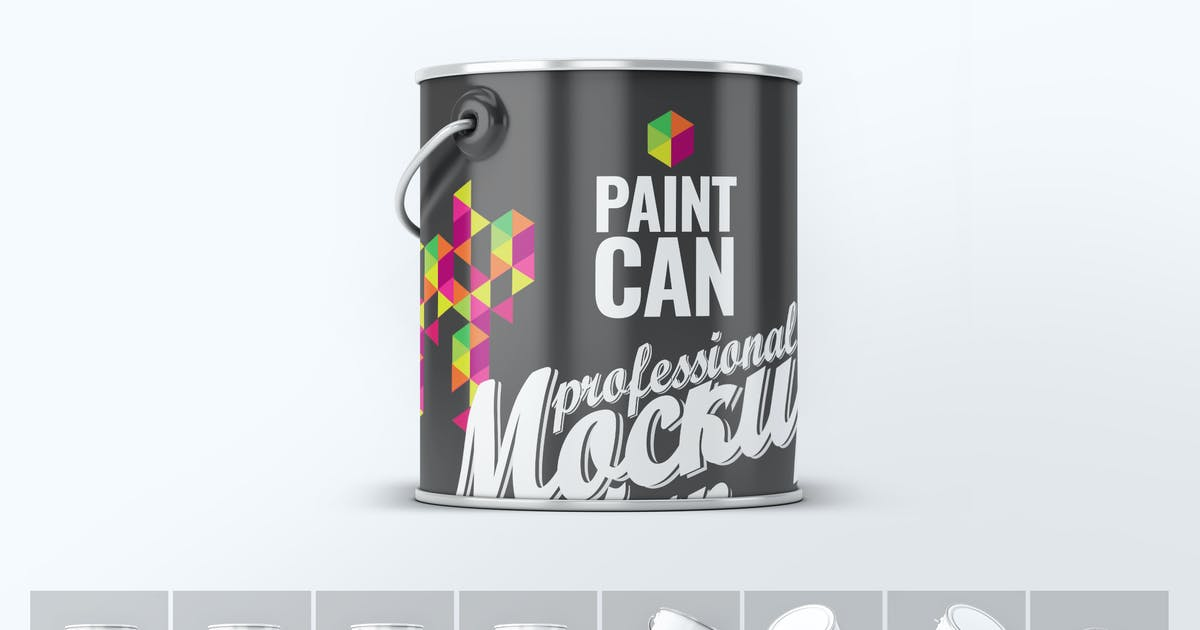 Download Paint Can Mock-Up by L5Design
