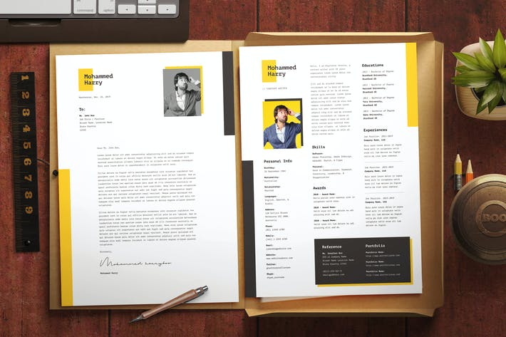 Thumbnail for Minimal Resume CV Template 11