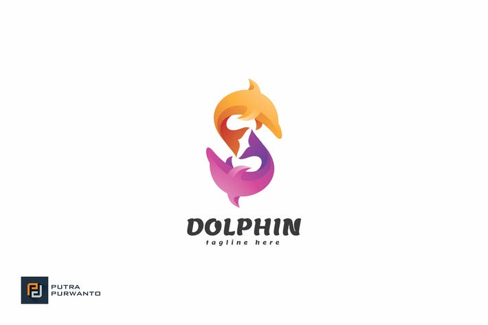 Thumbnail for Dolphin - Logo Template