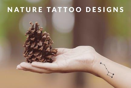 Nature Tattoo Designs