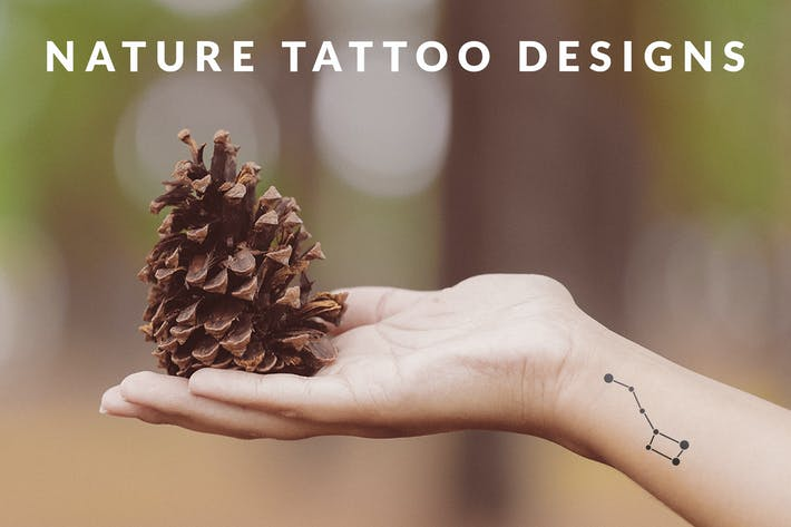 Thumbnail for Nature Tattoo Designs