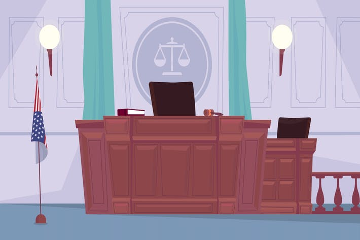 Thumbnail for Court - Illustration Background